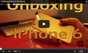 Nuestro particular unboxing del iPhone 6 Oro 64 GB [vídeo]
