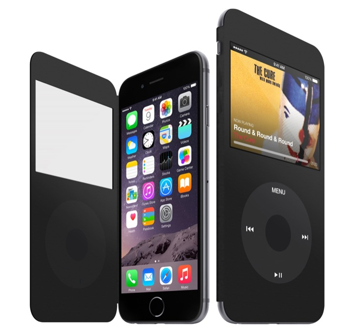 Concepto de iPod Cover, convierte tu iPhone en un iPod Classic