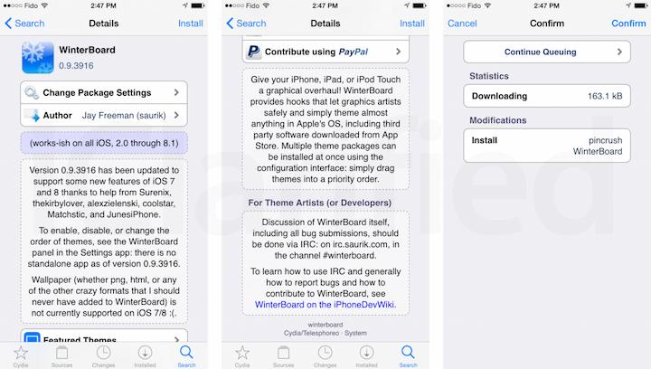 Saurik actualiza WinterBoard con novedades y apoyo a iOS 8