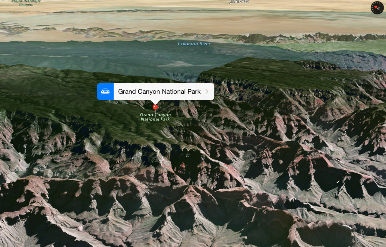 Apple añade 9 lugares con Flyover en sus mapas