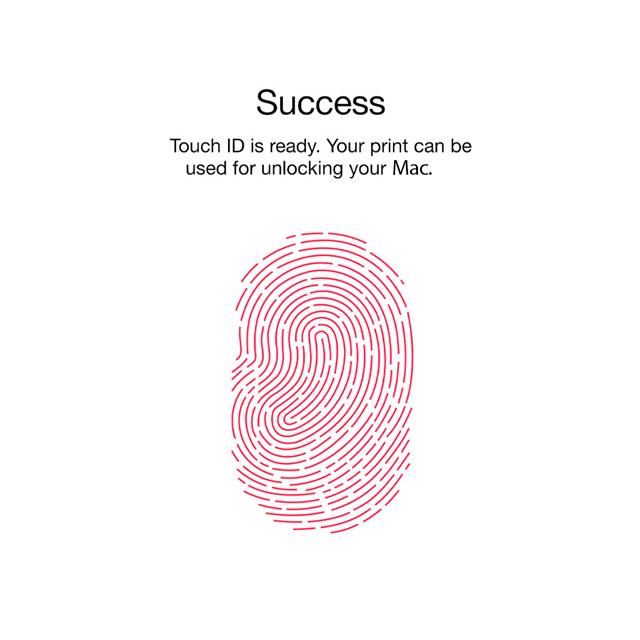 Touch ID y Apple Pay podrían llegar a portátiles y escritorio