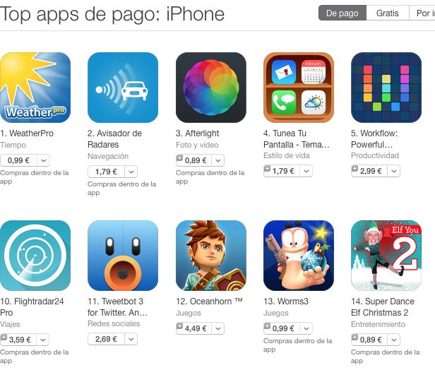 Apple anuncia cambios de precio en la App Store de Europa a partir del 1 de enero 2015