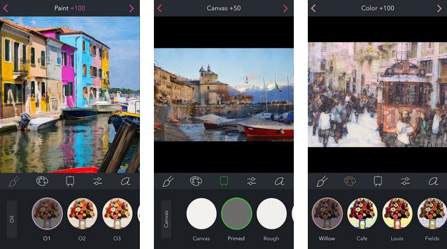 Brushstroke, la aplicación gratuita de la semana de Apple