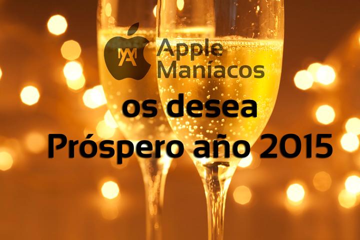 Feliz año 2015 a todos, amigos