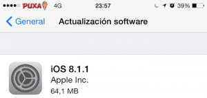 Apple Lanza iOS 8.1.1 con mejoras para el iPhone 4s y iPad 2