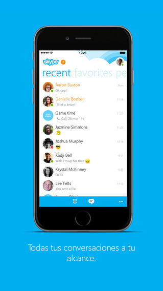 Skype App Obtiene Soporte para iPhone 6 y iPhone 6 Plus, Otras Mejoras