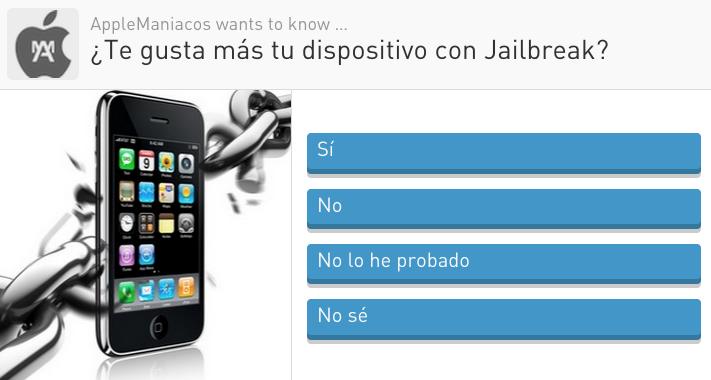 Encuesta: Jailbreak sí o no