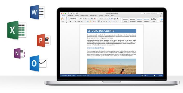 Versión preliminar de Office 2016 para Mac disponible