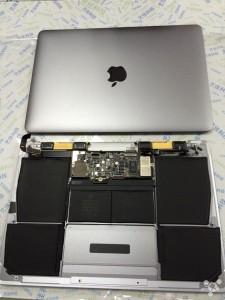 Temprano desmontaje del MacBook Retina de 12 pulgadas