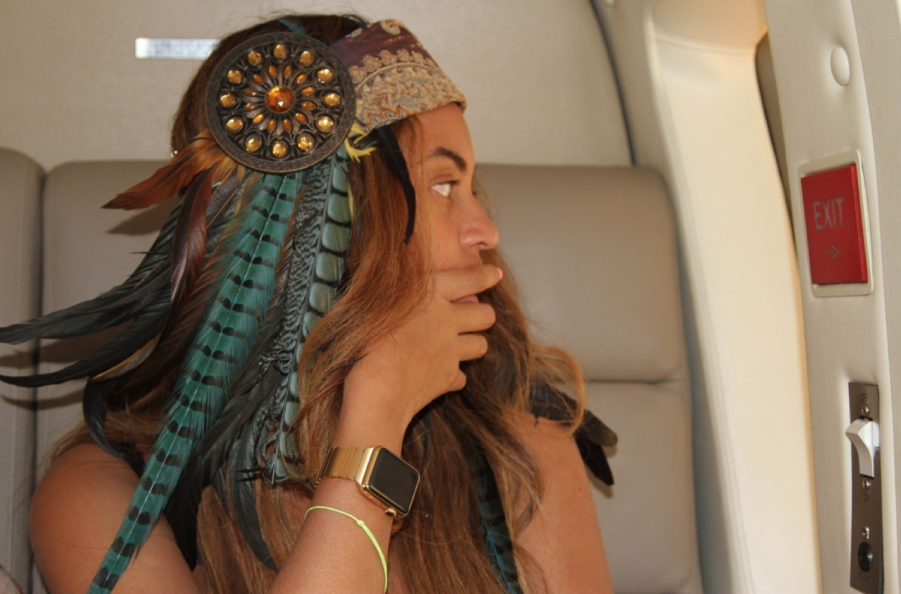 Apple Watch Gold Edition para Beyonce
