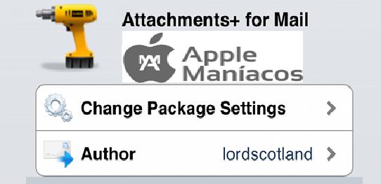 Cydia Tweak: Attachments+ for Mail