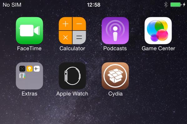 Vídeo de jailbreak en iOS 8.4 beta 1