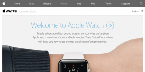 nuevos vídeos de visita guiada del Apple Watch
