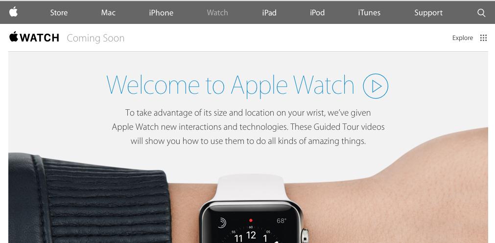 Vídeos sobre el funcionamiento del Apple Watch