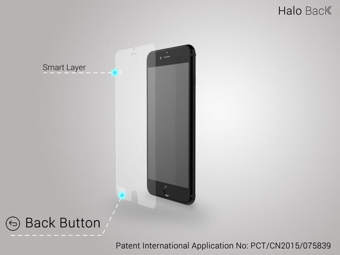 Halo Back, el primer protector de pantalla inteligente del mundo
