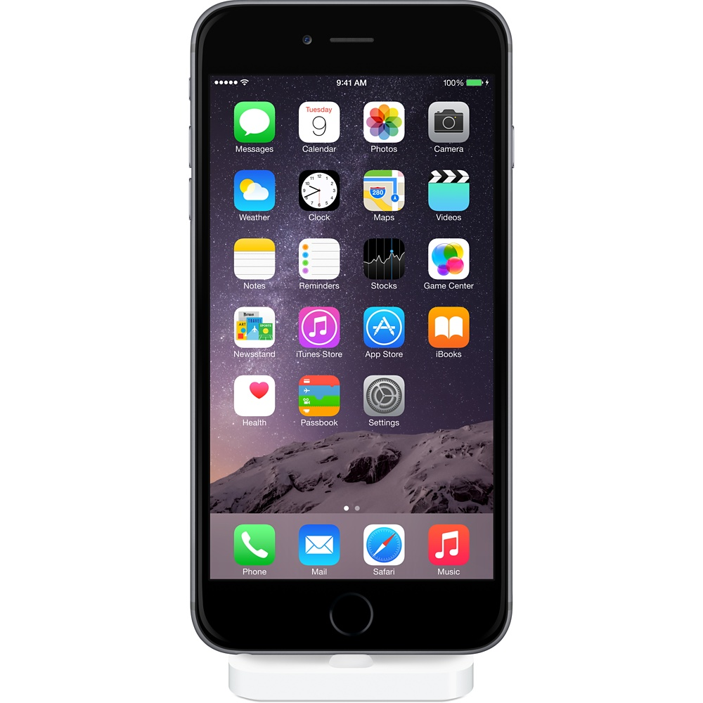 Disponible la base dock oficial para iPhone 6