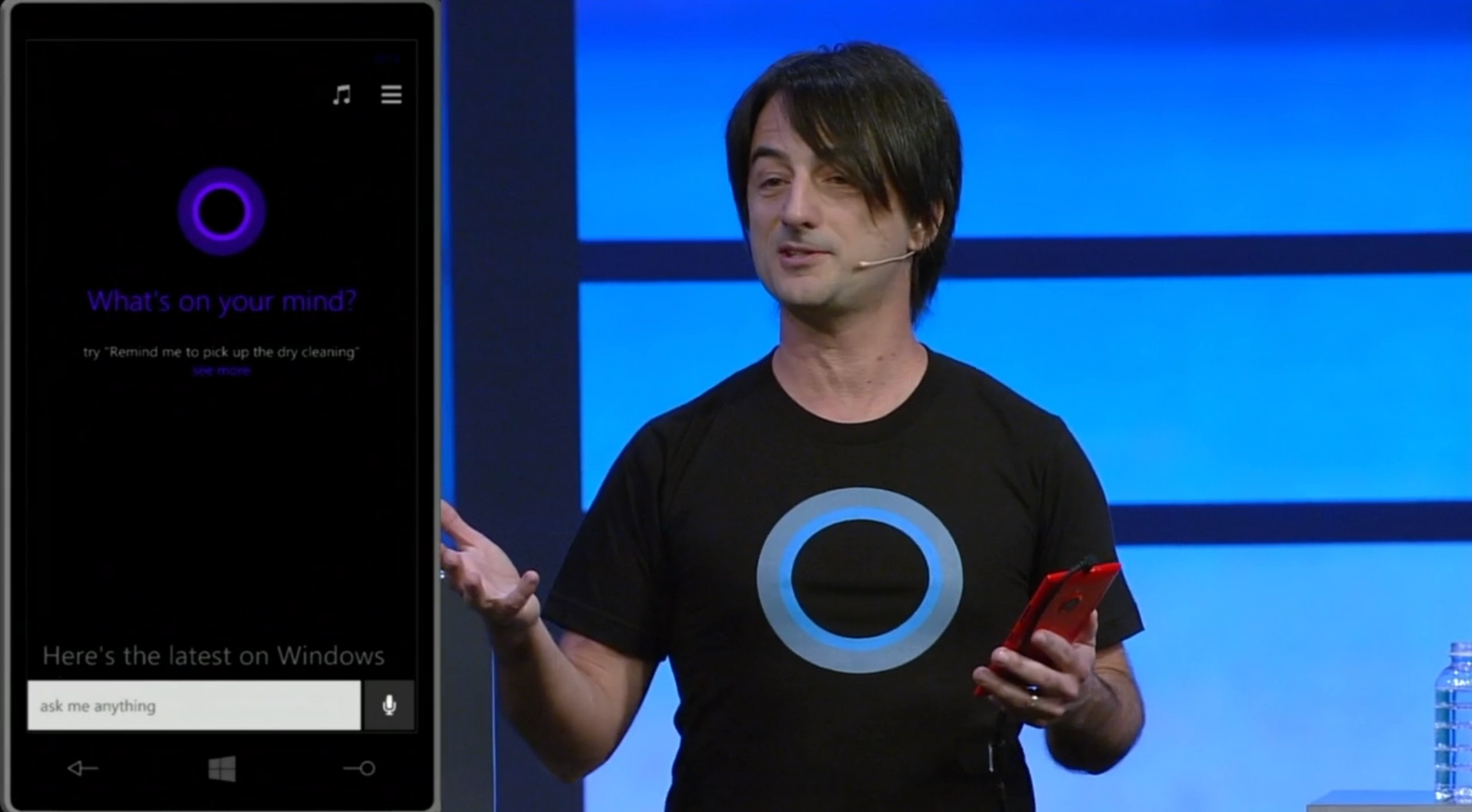 Microsoft anuncia Cortana para iPhone y Android