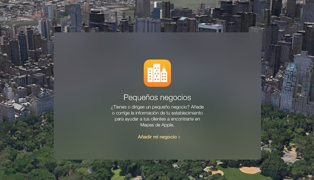 Apple Maps Connect, ya disponible para España