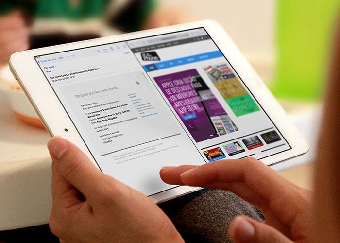 iPad con pantalla dividida Multitarea en iOS 9?