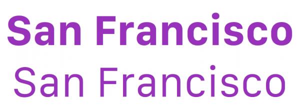 Apple podría poner la fuente San Francisco a iOS 9 y OS X 10.11