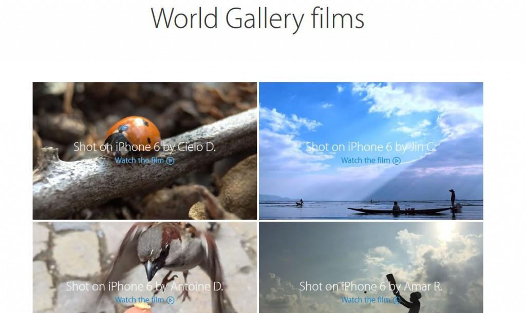 """""""World Gallery in motion"""", nos enseña lo que podemos grabar con nuestro iPhone 6"""