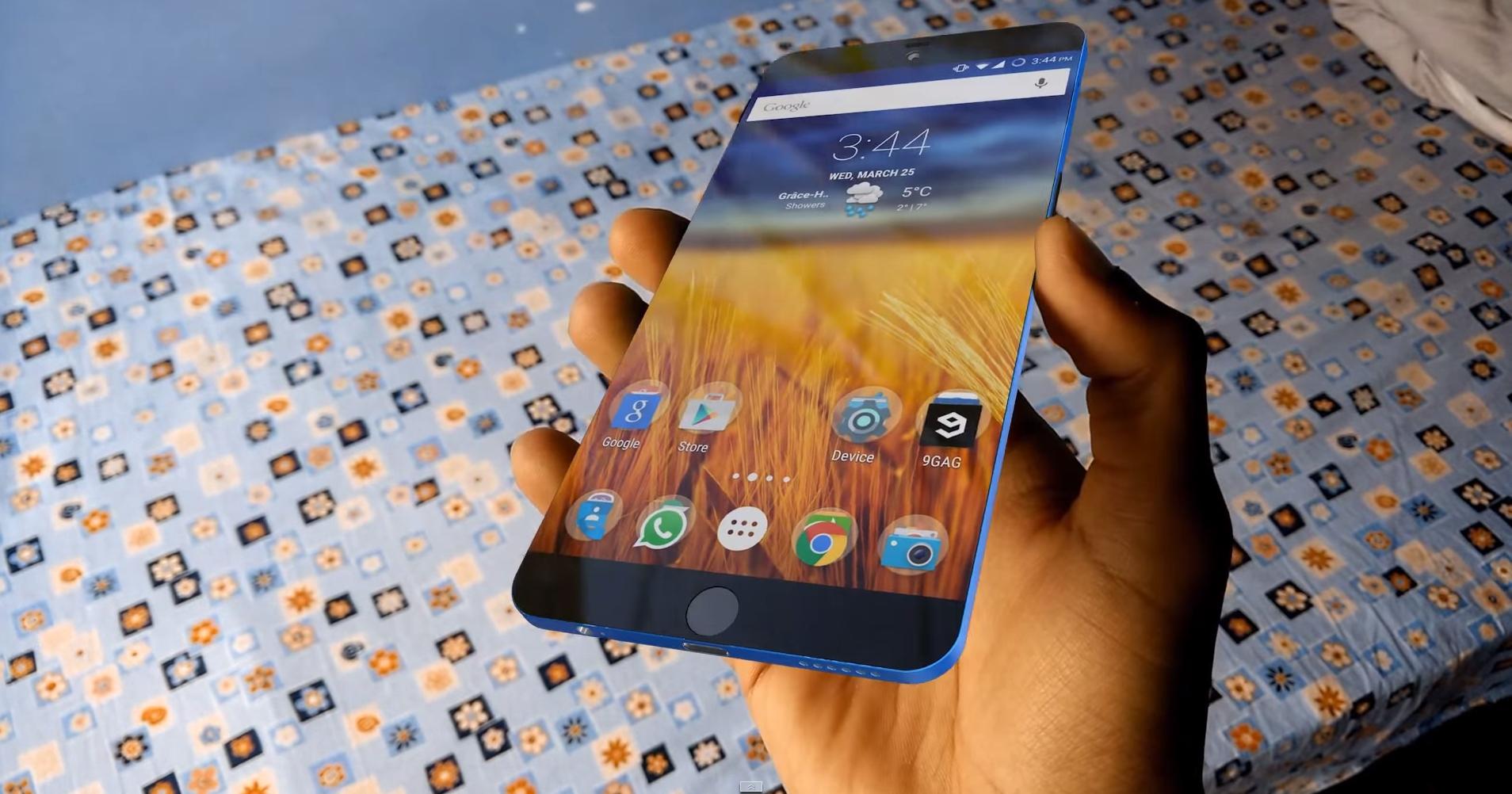 iPhone 7 Concept, 4K Video, antena sin bandas, pantalla sin bordes