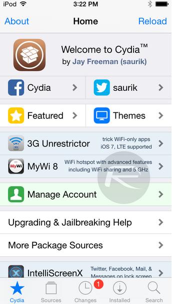 Lista de tweaks compatibles con iOS 8.3