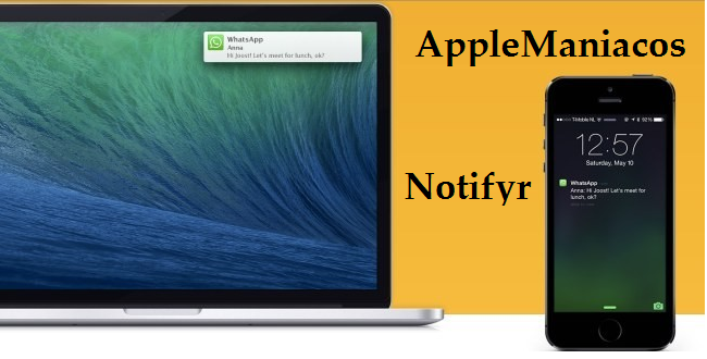 App Store: Notifyr Recibe notificaciones de iOS en tu Mac