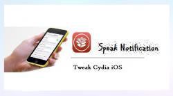 Cydia Tweak: Speak Notification