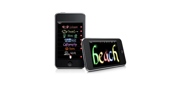 App Store: UyH Gold. Escritura a mano, bueno, a dedo