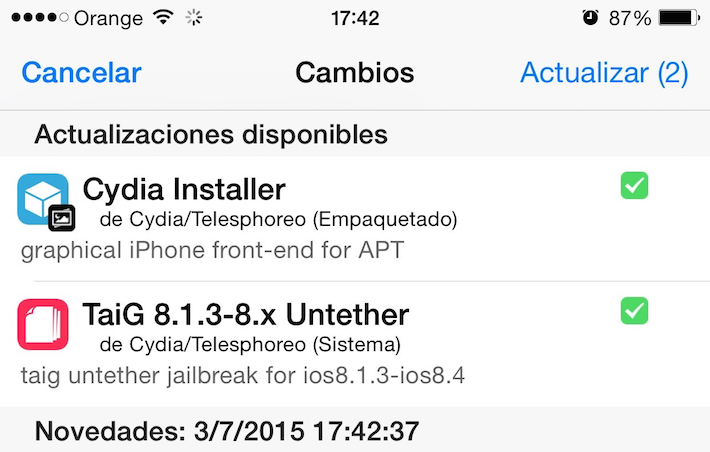 Cydia 1.1.19
