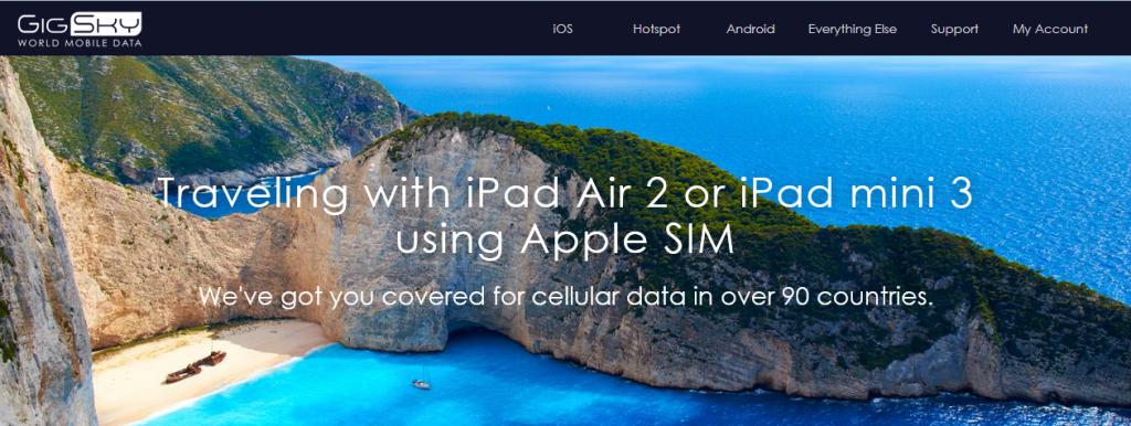 La Apple SIM llega a España de la mano de GigSky