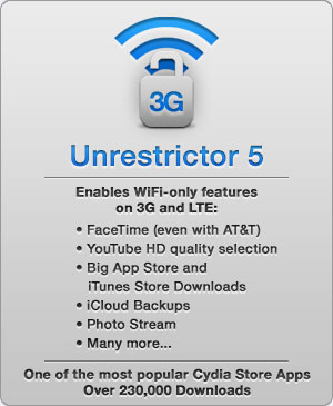 3g unrestrictor 5