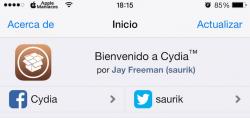 Saurik actualiza Cydia 1.1.23 con más novedades importantes