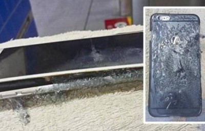 Explotó un iPhone 6 Plus en Hong Kong