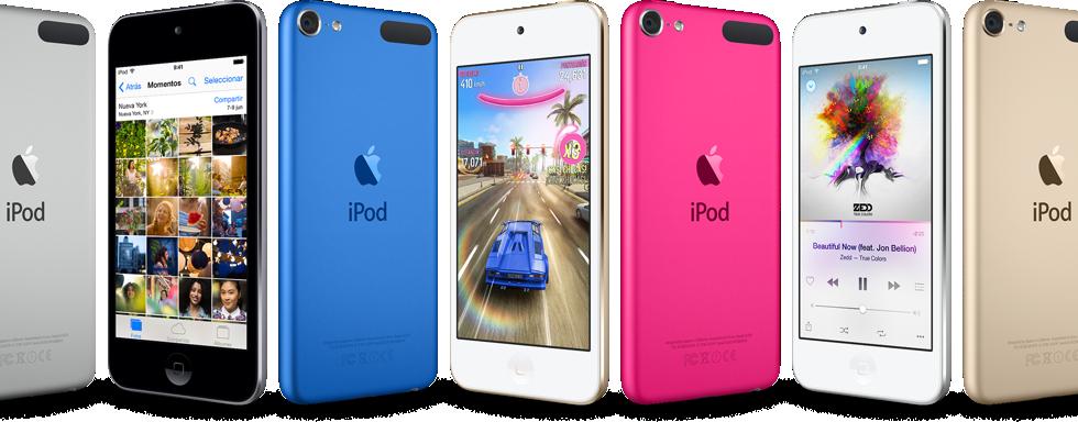 El nuevo iPod Touch ya a la venta desde 229€