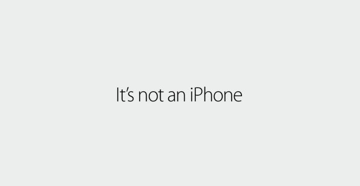 Nuevo spots de Apple para la joya de la corona