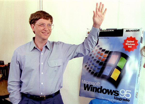 Happy birthday Windows 95