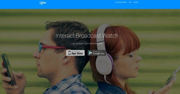 QuMe Interactúa en streaming con tus seguidores en ambos sentidos