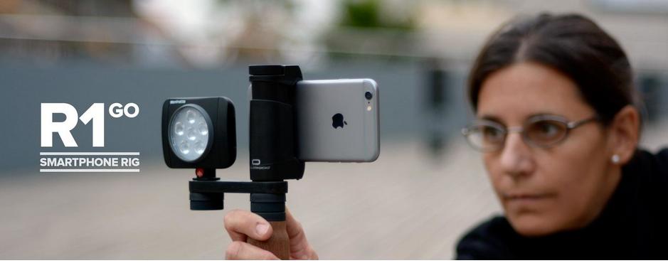 Con Shoulderpod tu iPhone una cámara profesional