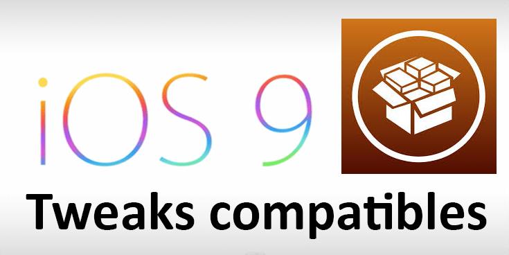 Listado de Tweaks compatibles con iOS 9