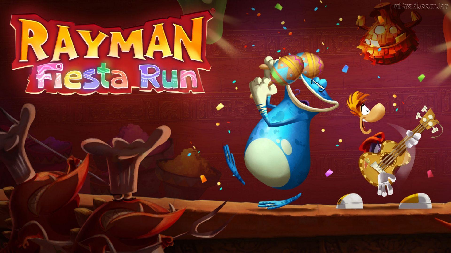 Rayman Fiesta Run juego gratuito de la semana