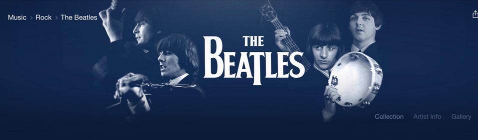 Apple Music podría incluir a The Beatles esta Navidad