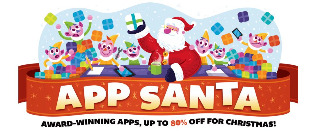 App Santa ofrece grandes descuentos para aplicaciones iOS y Mac