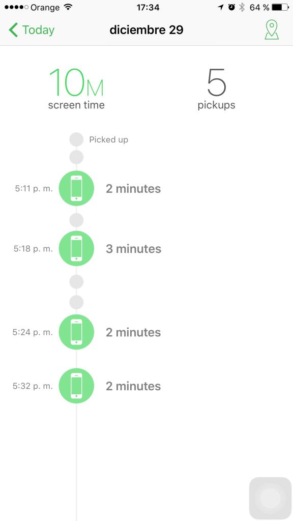Controla el tiempo que dedicas a tu iPhone con Moment
