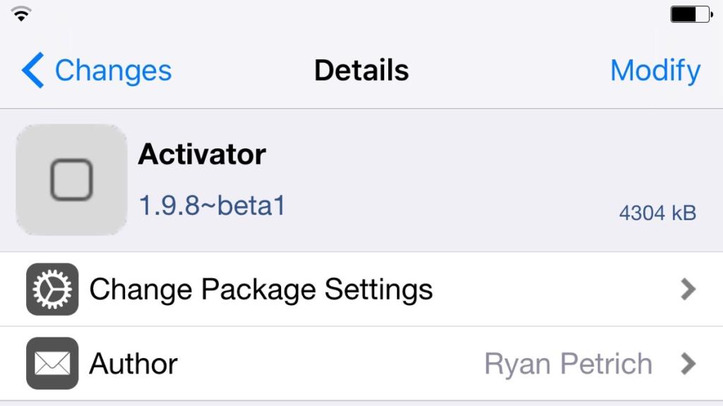 Activator 1.9.8 beta 1 disponible