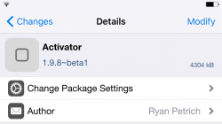 Activator 1.9.8 beta 1 disponible