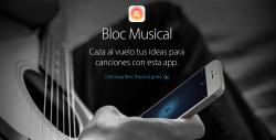 Bloc Musical la app para cuando las musas te inspiran