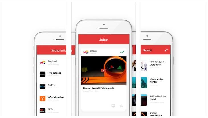 Juice Video la app que guarda, descarta y gestiona tus vídeos de Yotube