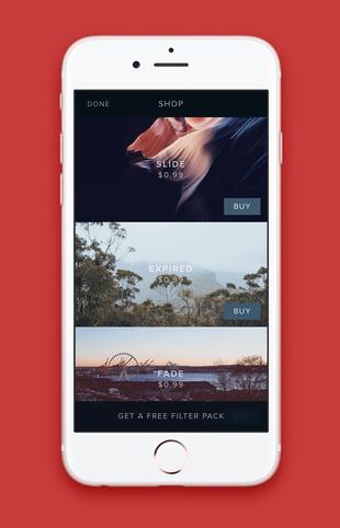 Infuse – Video Filters para iOS simple y efectiva